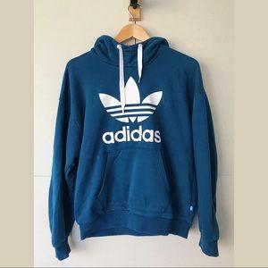 Blue adidas sweatshirt